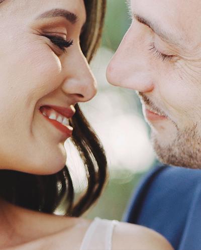 sourires des mariés