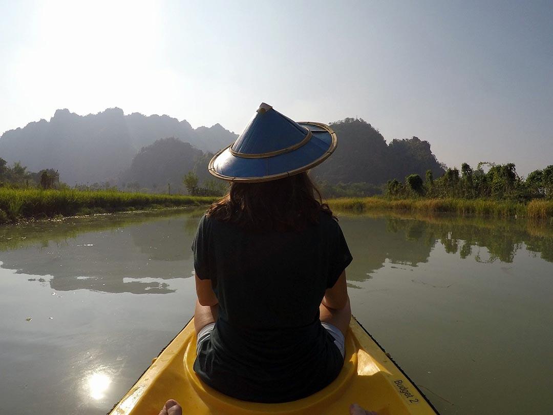 Kayak au Vietnam